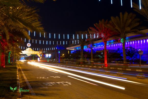 night life of kish island