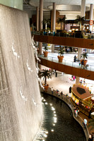 water fall in Dubai mall