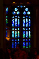 Sagrada Familia interior windows